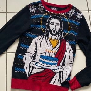 Happy Birthday Jesus sweater